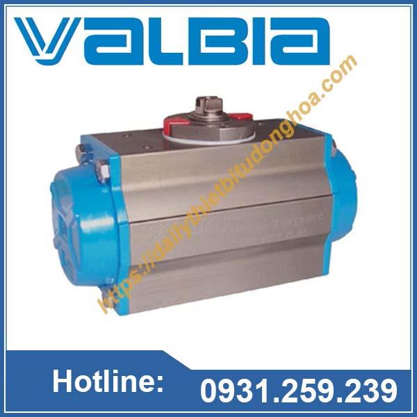 Bộ truyền động khí nén Valbia tại Việt Nam
